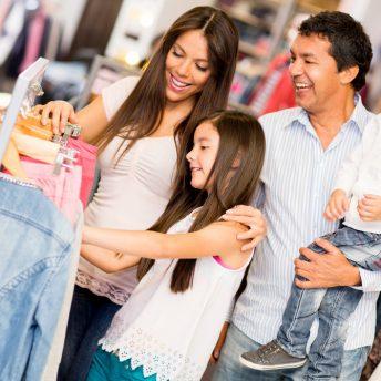 shopping famille