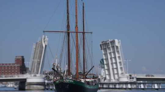 bateau écologique