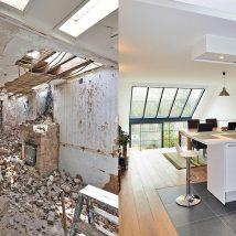 rénovation d'une vieille habitation